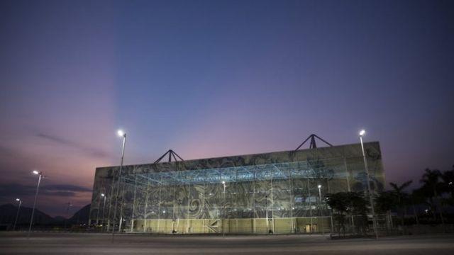 リオデジャネイロの競泳会場