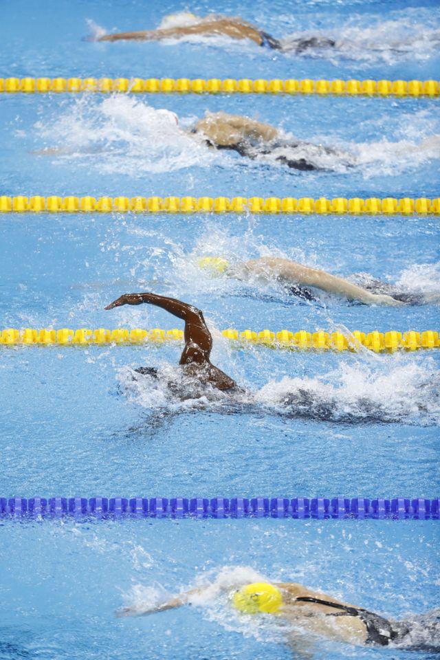 Competencia de natación en Río