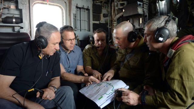 Беньямин Нетаньяху и Гилад Эрдан