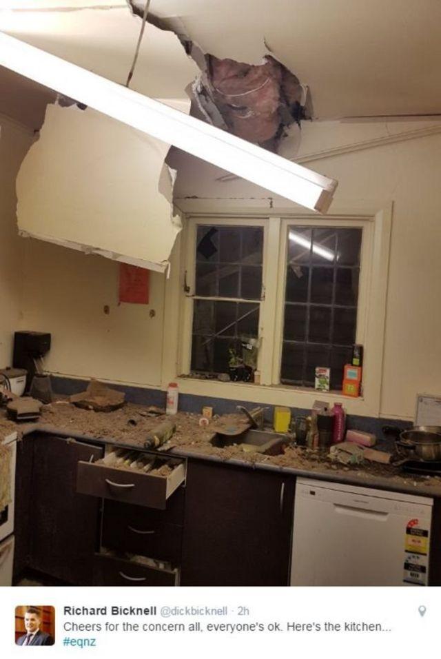 न्यूज़ीलैंड में भूकंप