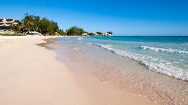 Playa en Barbados.