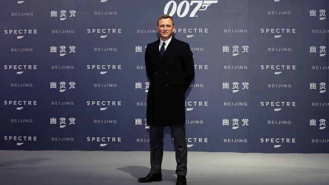 Daniel Craig di Beijing
