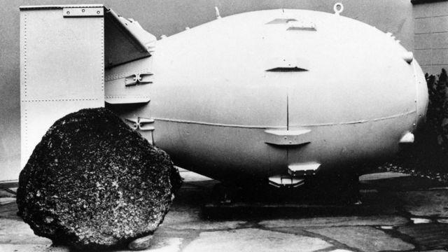 نموذج لقنبلة نووية أمريكية