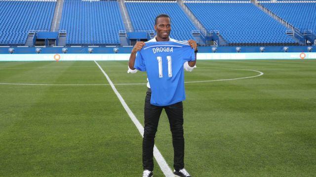 L'ancien international ivoirien Didier Drogba a signé ce mercredi 12 avril avec le club de 2e division américaine des Phoenix Rising.