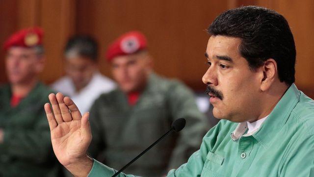 Shugaba Nicolas Maduro