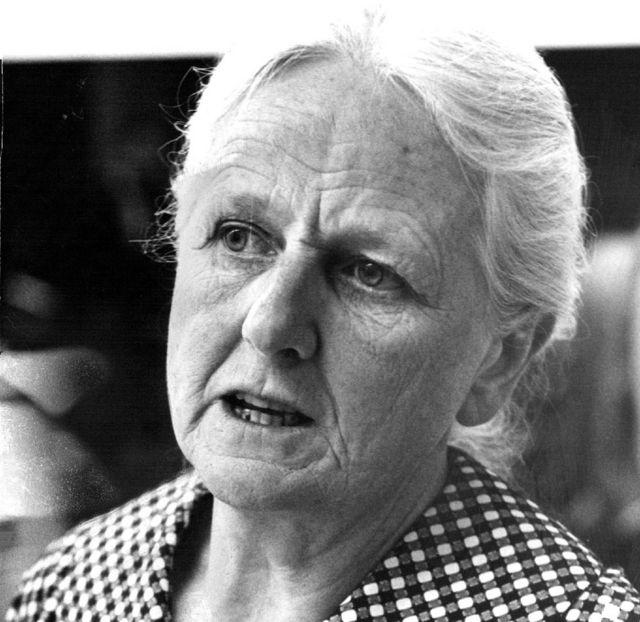 La británica Joan Robinson