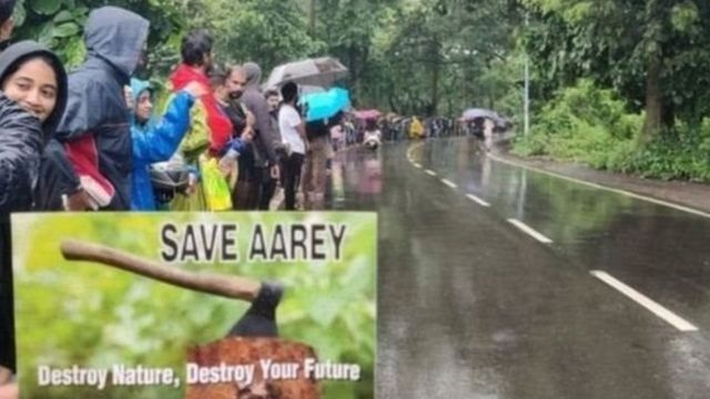 आरे पेड़ कटाई मामले में शिवसेना ने खुलकर मुख्यमंत्री देवेंद्र फडणवीस का विरोध किया था