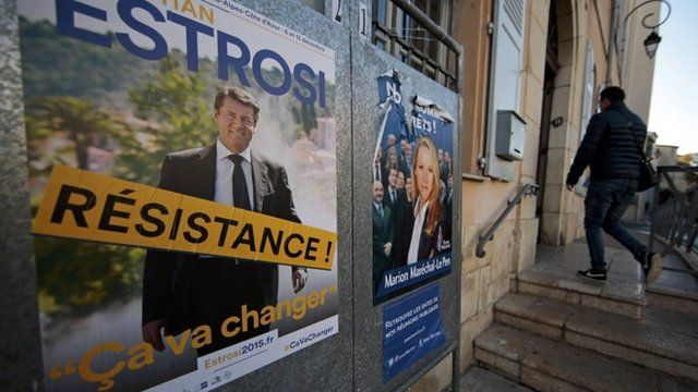 Election posters in France
