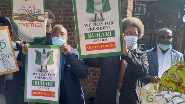 Awọn to n gbadura fun Buhari
