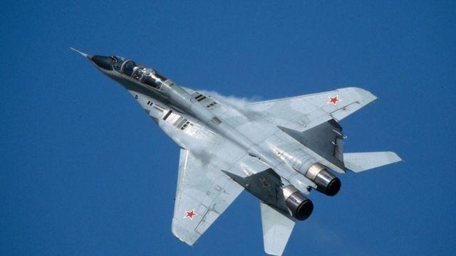(사진) 러시아군의 미그-29 전투기