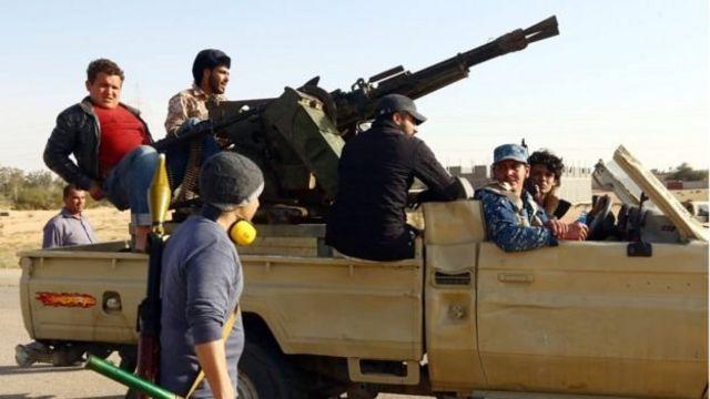 Abagwanyi bo muri Libya