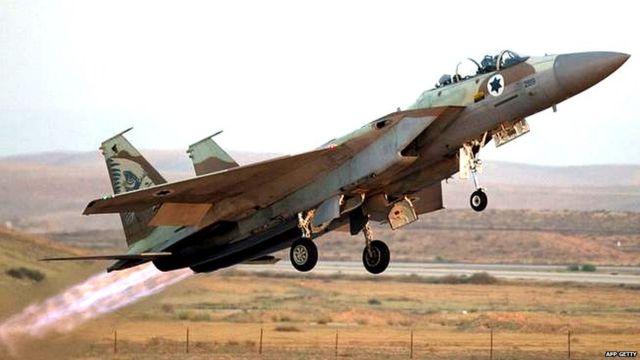 इसराइली लड़ाकू विमान