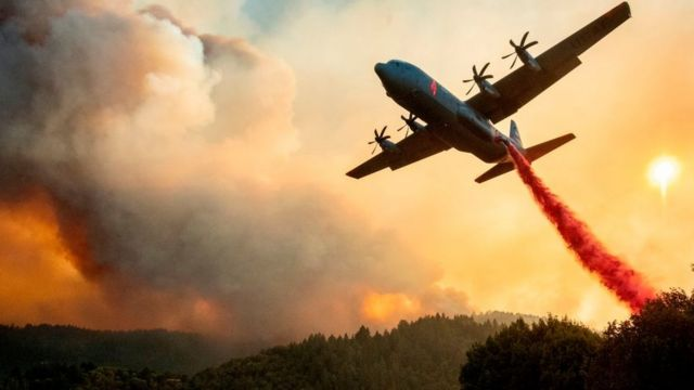 آتش سوزی در غرب آمریکا ادامه دارد