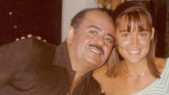 Jill Dodd com Khashoggi