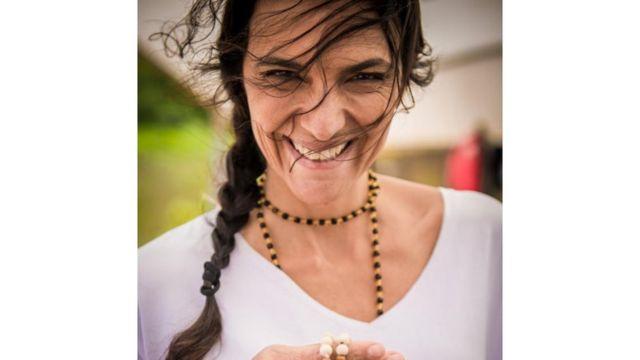 A médica Juliana Pacheco