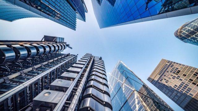 Londra finans merkezi
