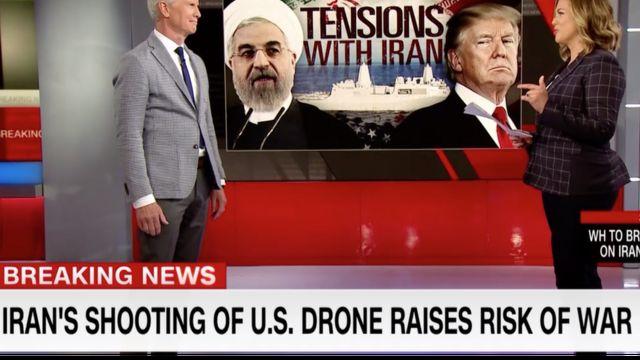 شبکه خبری سیانان با دعوت از ژنرالهای بازنشسته در مورد تبعات و احتمال رویارویی نظامی با ایران سخن گفت