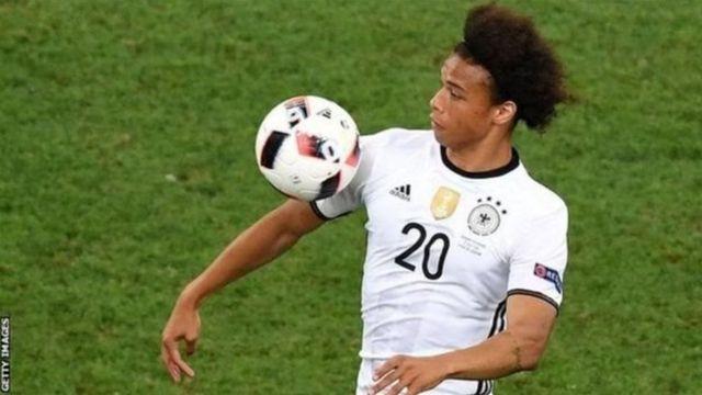 Sané faisait partie de la sélection allemande pour l'Euro 2016