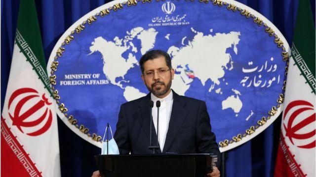 Iranian Foreign Ministry spokesman, Saeed Khatibzadeh