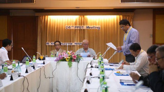 ထိုင်းနိုင်ငံ ချင်းမိုင်မှာ ပြုလုပ်နေတဲ့ တိုင်းရင်းသား လက်နက်ကိုင် အဖွဲ့အစည်း၊ ငြိမ်းချမ်းရေးလုပ်ငန်းစဉ် ဦးဆောင်အဖွဲ့ရဲ့ NCA-S EAO PPST (၂၄) ကြိမ်မြောက် အစည်းအဝေး