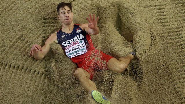 Jovančević je u Glazgovu postavio nacionalni rekord