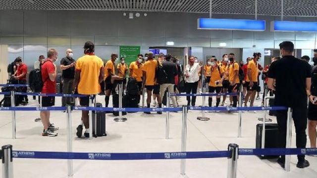 Galatasaray kafilesi