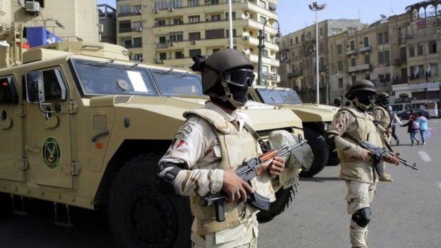 قوات أمنية في مصر