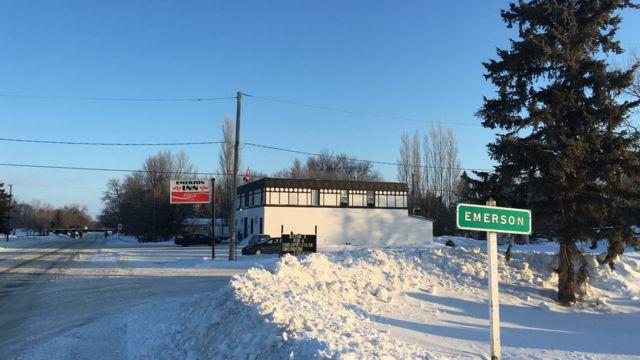 Emerson, em Manitoba