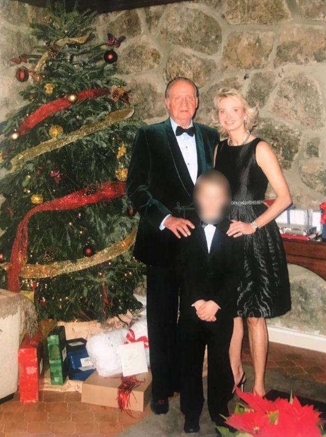 Juan Carlos con Corinna zu Sayn-Wittgenstein en 2008