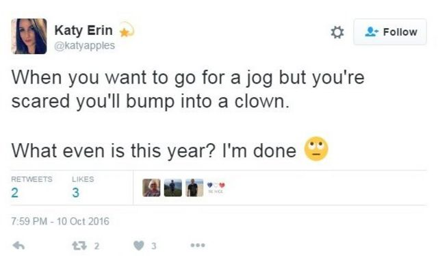Tuit de Katy Erin