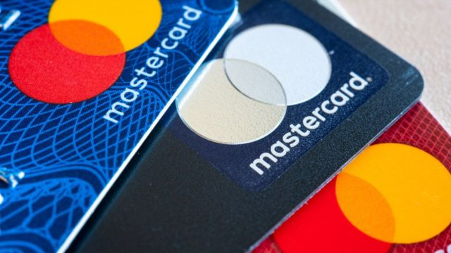 Tarjetas Mastercard.