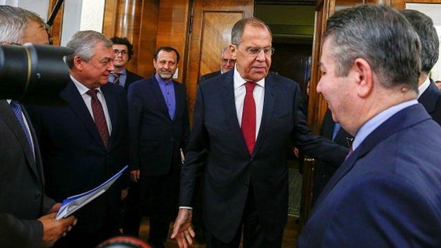 Sedat Önal Moskova'da Rus diplomatlarla görüştü