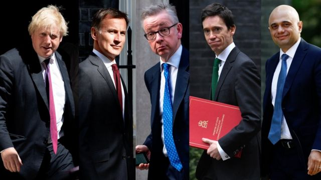 Tory leadership race: Candidates face third vote