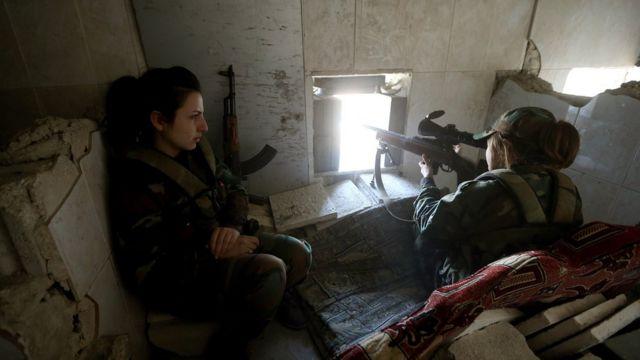 시리아 군인