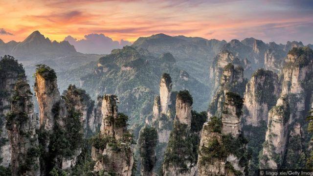 Montañas de la provincia de Jiangyong
