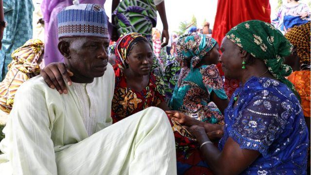 Chibok girls and dia parents