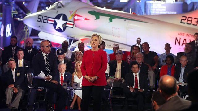 Хилари Клинтон на форуме