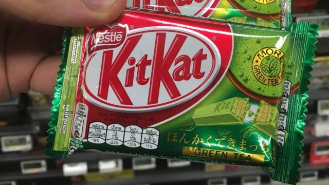 Kit Kat de te verde