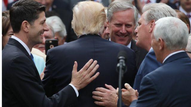 Трамп и республиканцы в конгрессе
