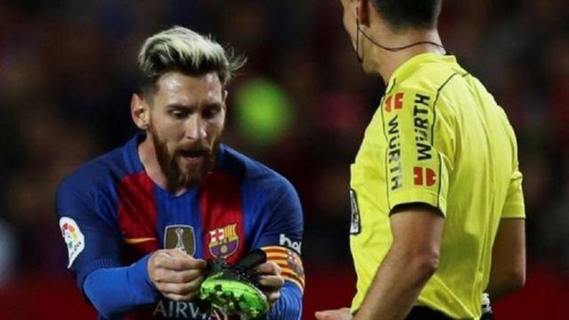 ليونيل ميسي أحرز الهدف 469 له في مسيرته مع برشلونة