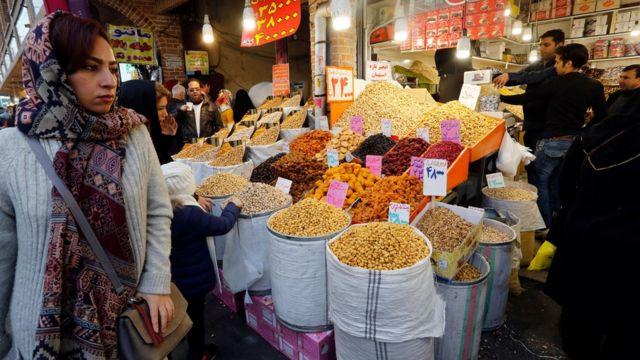 Tehranın mərkəzi bazarı