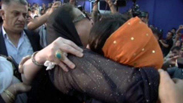 Maryam meets her mother