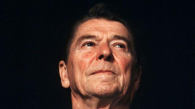 Ronald Reagan.