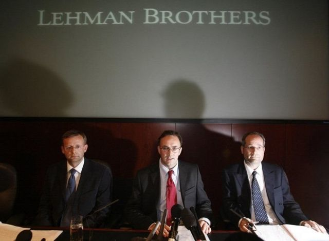 The bankruptcy of Lehman Brothers in 2008 caused a global financial tsunami