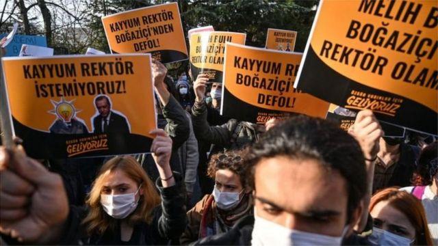 Boğaziçi protesto