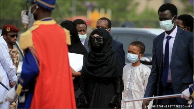 La veuve d'Idriss Deby
