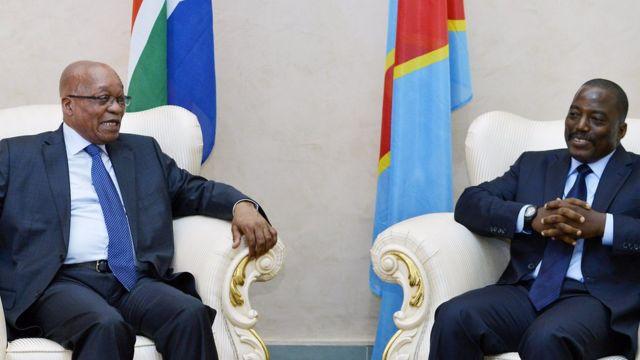 Jacob Zuma avuga ko SADC ishigiki kwigiza inyuma amatora muri Kongo