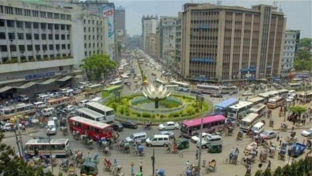 ঢাকার অন্যতম বাণিজ্যিক এলাকা মতিঝিল