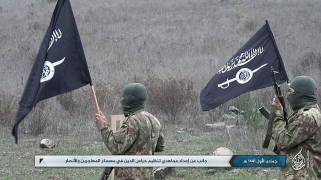 القاعده از طریق گروهی به نام حراس الدین در سوریه فعال است