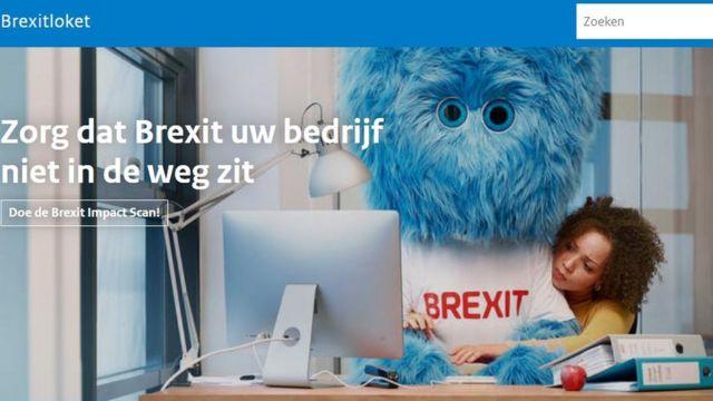 Sajt vlade Holandije posvećem Brigzitu